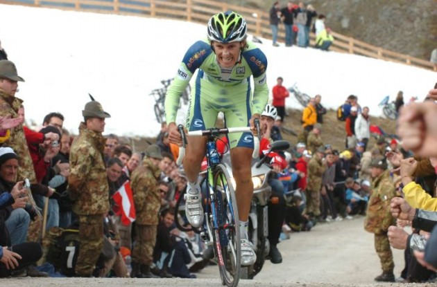 Franco Pellizotti has been found guilty of doping. Photo Fotoreporter Sirotti.