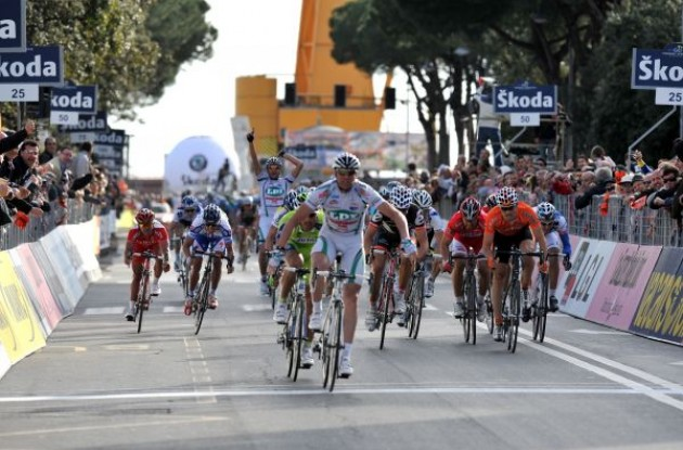 Alessandro Petacchi (Team Lampre). Photo copyright Fotoreporter Sirotti.
