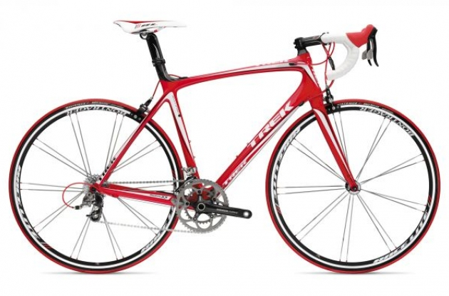 Review of the 2009 Trek Madone road bike.