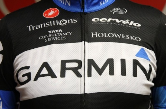 2011 Team Garmin-Cervelo kit design.