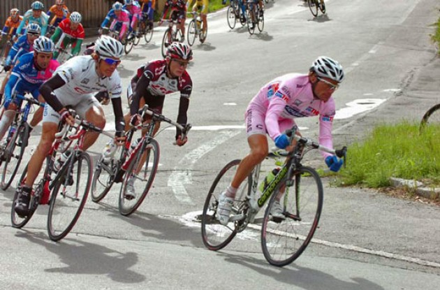 Di Luca, Schleck and co.