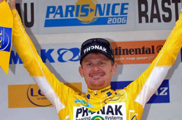 Floyd Landis (Phonak - iShares). Photo copyright Fotoreporter Sirotti.