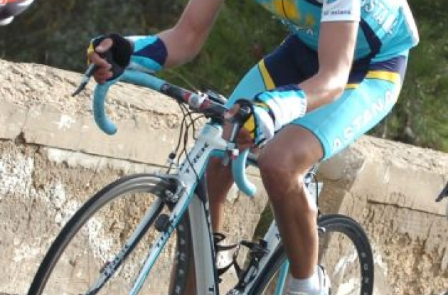 Alberto Contador - Team Astana.