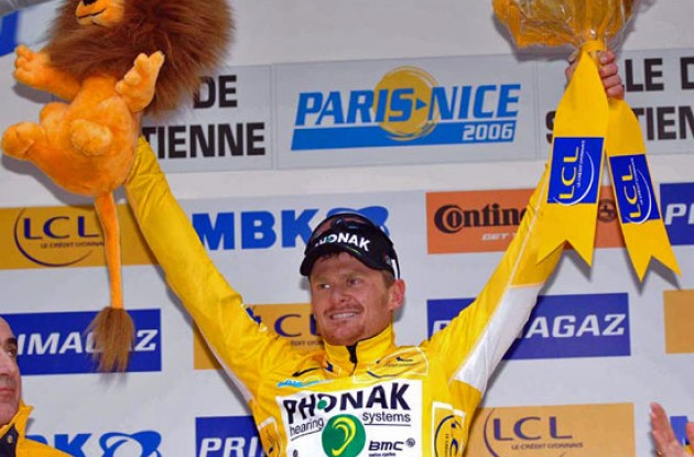 Floyd Landis (Phonak - iShares) - 2006 Tour de France winner? Photo copyright Fotoreporter Sirotti.