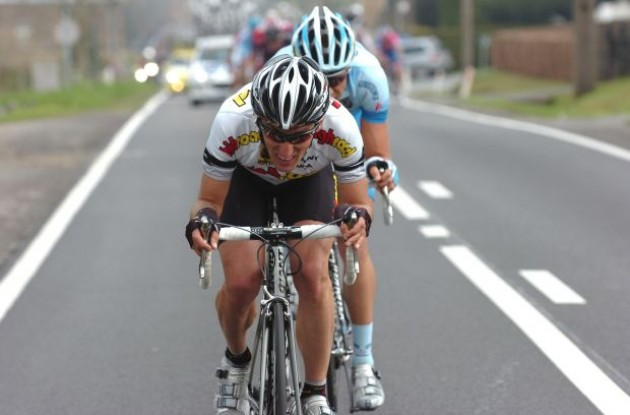 Marco Pinotti (Team Columbia-HTC). Photo copyright Fotoreporter Sirotti.