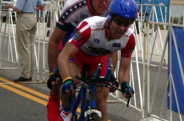 Bryn and Dall. Photo copyright Roadcycling.com/Tommy W. Murphy.