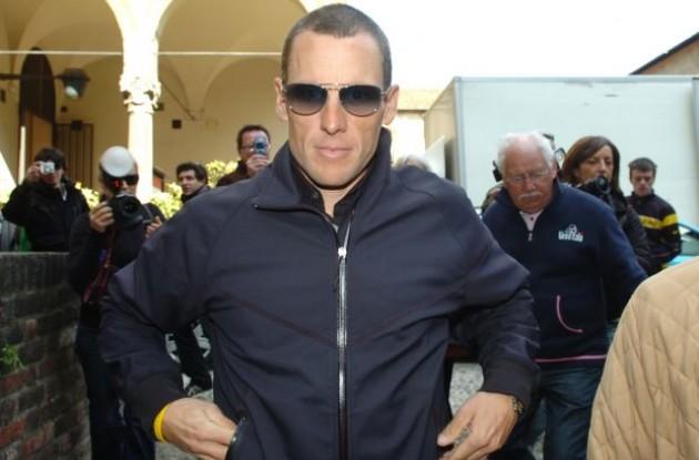Lance Armstrong (Team RadioShack). Photo copyright Fotoreporter Sirotti.