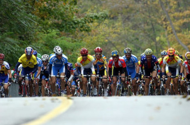 Riders emerging from the first climb.  Photo copyright Paul Sampara Photography.