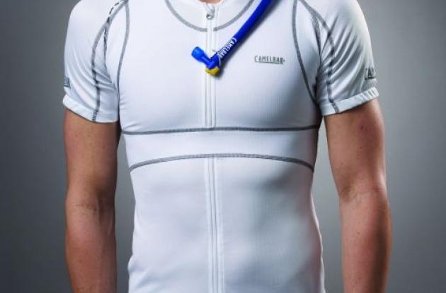 CamelBak VeloBak hydration bike jersey.