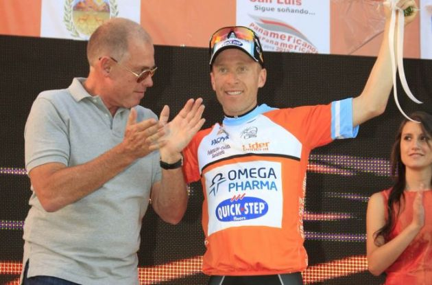 Levi Leipheimer (Team Omega Pharma - Quick Step). Photo copyright Roberto Bettini.