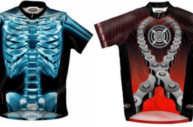 Primal Wear X-Ray and Chained Up jerseys.