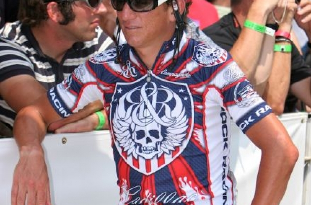 "Tyler Hamilton (Team Rock Racing). Photo copyright <A HREF=""http://pa.photoshelter.com/usr-show/U0000yEwV90OAoAE"" TARGET=""_BLANK"">Ben Ross</A>."