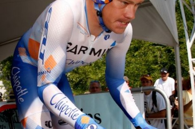 "Tom Danielson (Team Garmin-Chipotle). Photo copyright <A HREF=""http://pa.photoshelter.com/usr-show/U0000yEwV90OAoAE"" TARGET=""_BLANK"">Ben Ross</A>."