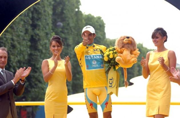 Alberto Contador (Team SaxoBank-SunGard). Photo Fotoreporter Sirotti.