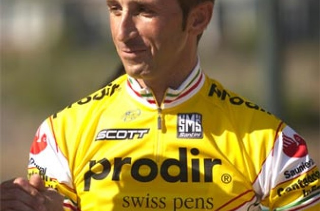 Andrea Tafi. Photo copyright Ben Ross/Roadcycling.com.