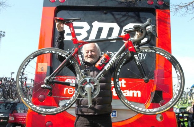 BMC owner Andy Rihs. Photo Fotoreporter Sirotti.