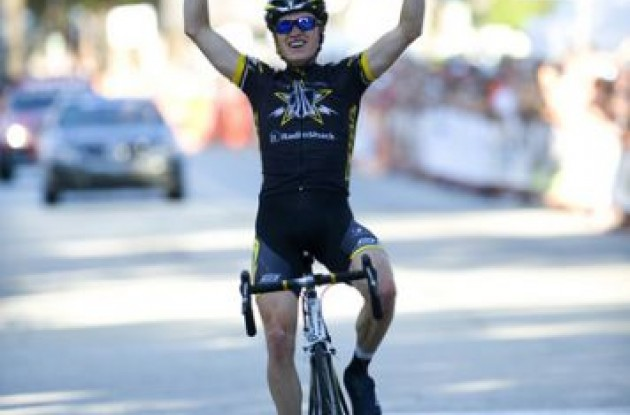 Benjamin King is the new US national road cycling champion.