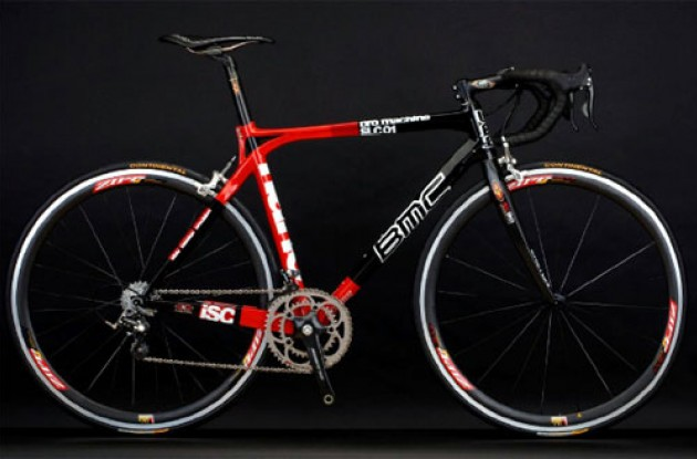The BMC Pro Machine. Photo copyright Roadcycling.com.