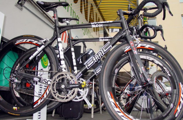 Eventually there will be a BMC Pro Machine for everyone. Photo copyright Roadcycling.com.