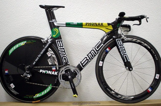 "It's a lean, mean power machine! Look out for Tyler ""Courageous Captain"" Hamilton riding it to victory in the Tour de France prologue and time trials."