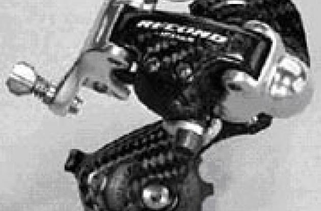 Campagnolo Record carbon fiber line.