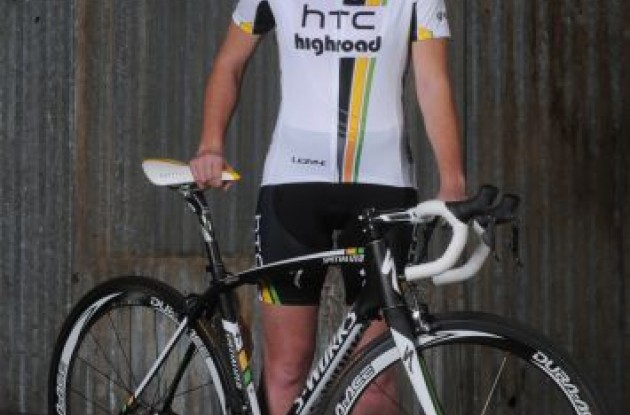 Carla Swart (Team HTC-HighRoad). Photo Brian Hodes.