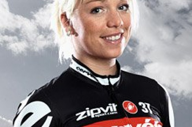 Charlotte Becker (Cervelo Women's TestTeam) Photo copyright Tim de Waele.