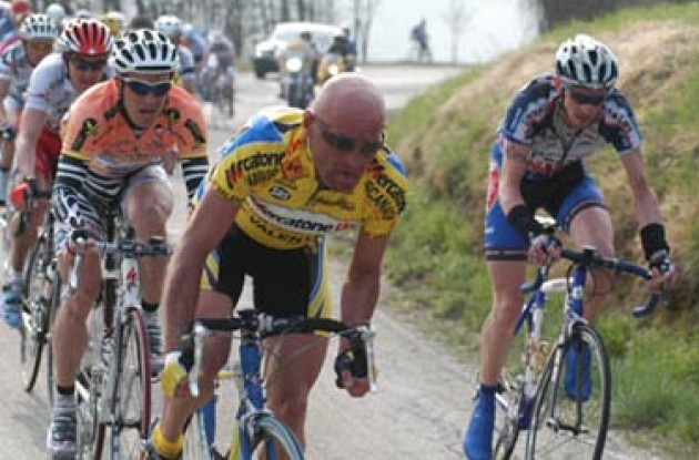 Pantani attacks! Photo copyright Fotoreporter Sirotti