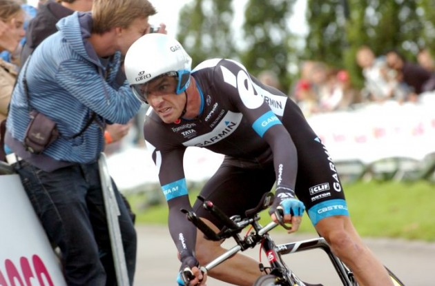 David Millar (Team Garmin-Cervélo). Photo Fotoreporter Sirotti.