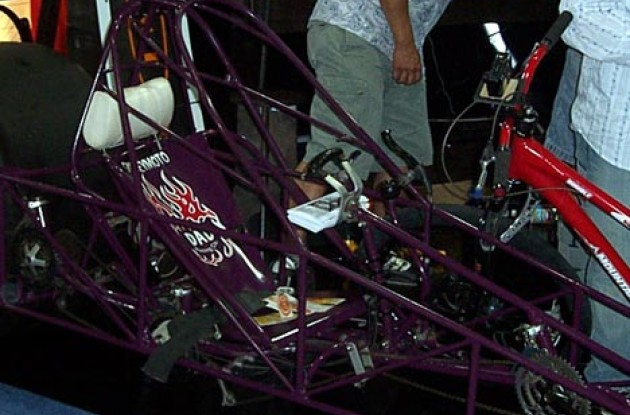 A closer look at the Dragster. Photo copyright Roadcycling.com.
