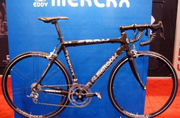 Eddy Merckx Carbon 3XM. Photo copyright Roadcycling.com.