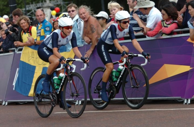 "Great Britain's Elizabeth ""Lizzie"" Armitsted at the start. Photo Fotoreporter Sirotti."