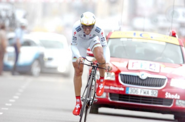 Fabian Cancellara (Switzerland). Photo Fotoreporter Sirotti.