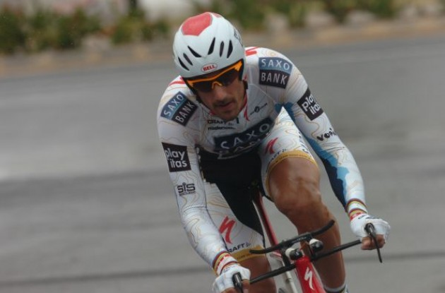 Fabian Cancellara - the Swiss time machine. Photo copyright Fotoreporter Sirotti.