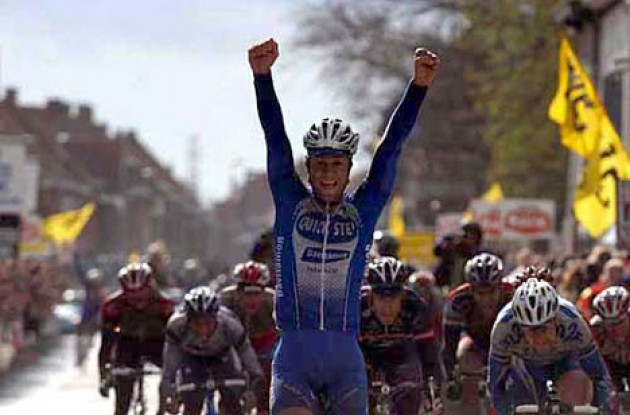 Tom Boonen. Photo copyright Fotoreporter Sirotti.