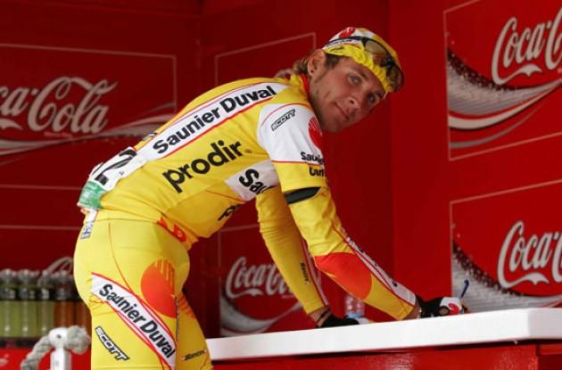 José Ángel Gómez Marchante (Saunier Duval - Prodir). Photo copyright Roadcycling.com.
