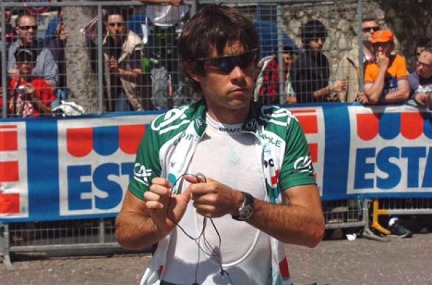 Julian Dean - Team Credit Agricole sprinter. Photo copyright Roadcycling.com
