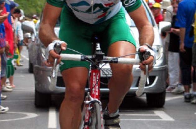 Julian Dean - Team Credit Agricole. Photo copyright Roadcycling.com.