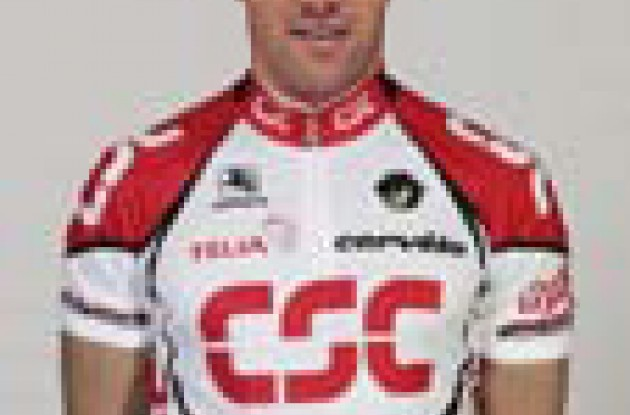 Julian Dean - Team CSC sprinter.