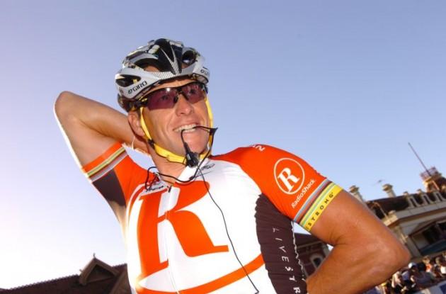 Lance Armstrong (Team RadioShack). Photo Fotoreporter Sirotti.