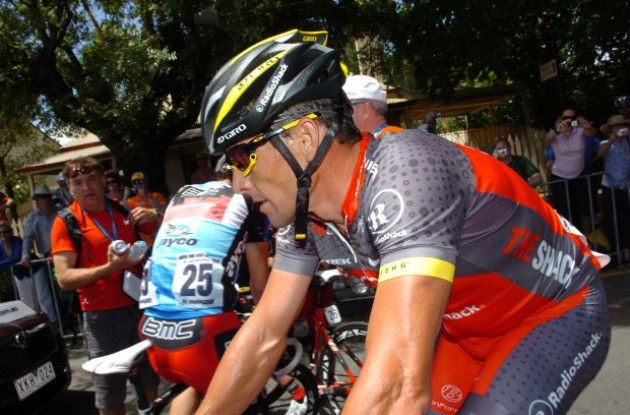 Lance Armstrong (Team RadioShack) is ready for the 2010 Tour de France. Photo copyright Fotoreporter Sirotti.