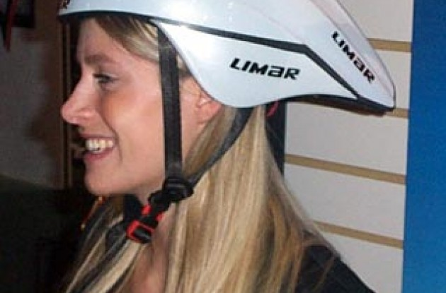 Limar aero helmet. Photo copyright Roadcycling.com.