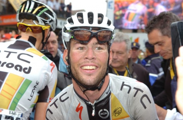 Mark Cavendish. Photo Fotoreporter Sirotti.