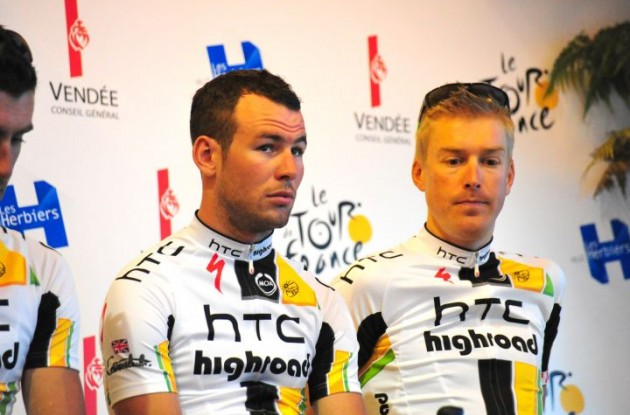 Mark Cavendish (Team HTC-HighRoad). Photo Fotoreporter Sirotti.