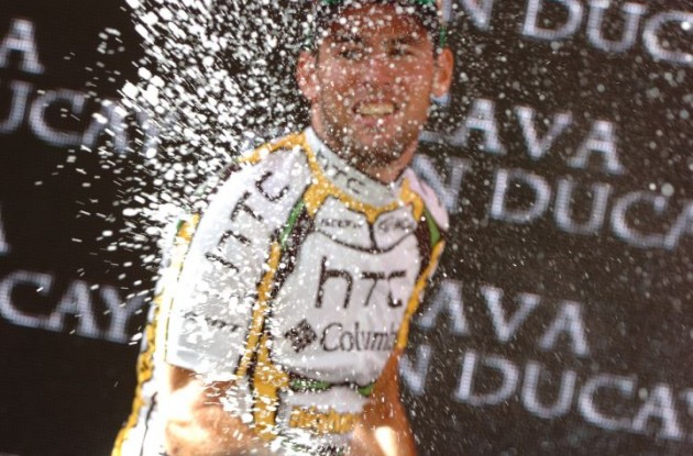 Mark Cavendish (Team HTC-Columbia). Photo copyright Fotoreporter Sirotti.