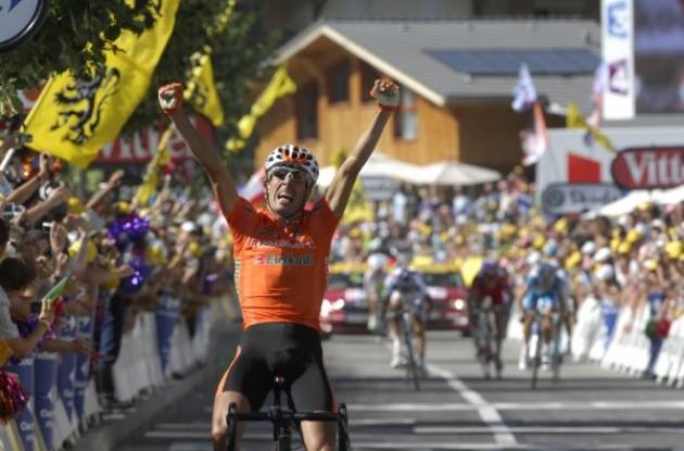 Mikel Astarloza (Team Euskaltel). Photo copyright Fotoreporter Sirotti.