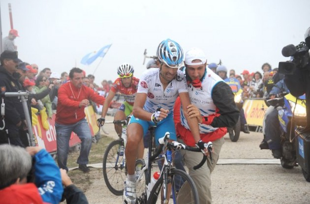 Vuelta runner-up Mosquera faces doping case. Photo Fotoreporter Sirotti.