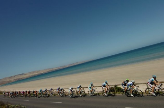 Peloton beach panorama. Photo Fotoreporter Sirotti.
