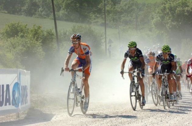 Pieter Weening attacks. Photo Fotoreporter Sirotti.