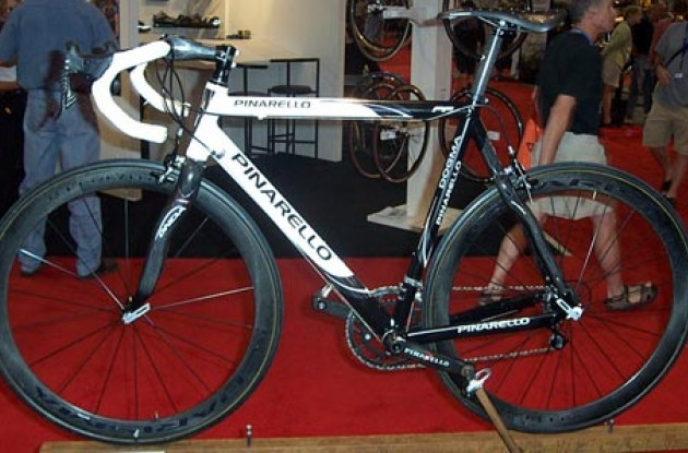 Pinarello Dogma FP. Photo copyright Roadcycling.com.